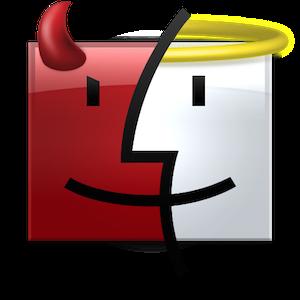 Mac Finderのウインドウを分割したり、統合したりする方法。