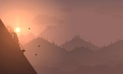 Alto's Adventure – 幻想的な雪山の世界をスノーボードで滑走するゲーム [iOS / Android]