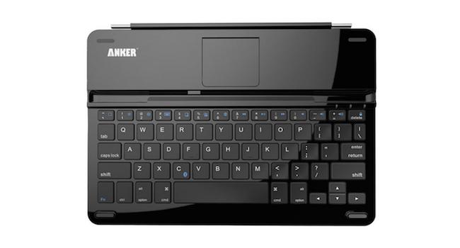 【レビュー】Anker TC930 ウルトラスリムBluetoothキーボードカバー。
