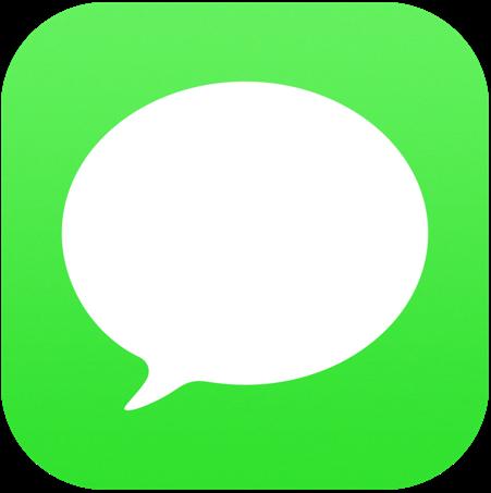iOS標準「メッセージ」アプリのアイコン