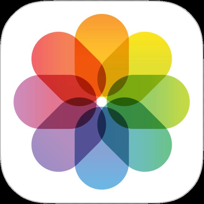 iOS標準「写真」アプリのアイコン