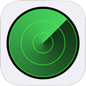 iOS標準「iPhoneを探す」アプリのアイコン