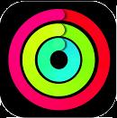 iOS標準「アクティビティ」アプリのアイコン