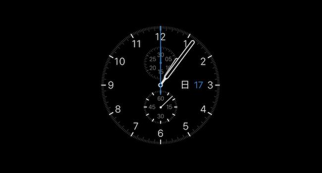 Watch OSX – 画面をApple Watch 風にする Mac用スクリーンセーバー