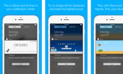 Steve – iOS(iPhone/iPad)通知センターで遊べるゲーム! オフラインでも楽しめるウィジェット