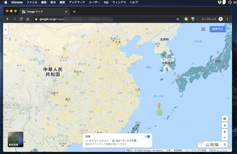 中国におけるストリートビューの対応状況