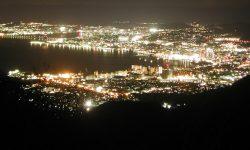 滋賀で落ち着いて琵琶湖の夜景を楽しめる絶景スポット 「比叡山ドライブウェイ 夢見ヶ丘」