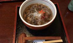 彦根城周辺で近江牛肉そばを食べるなら「十割蕎麦もんぜんや」