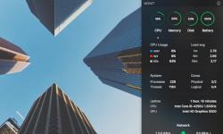 MONIT – Macのシステム稼働状況(CPU/ネットワーク)を通知センターからチェックできるアプリ