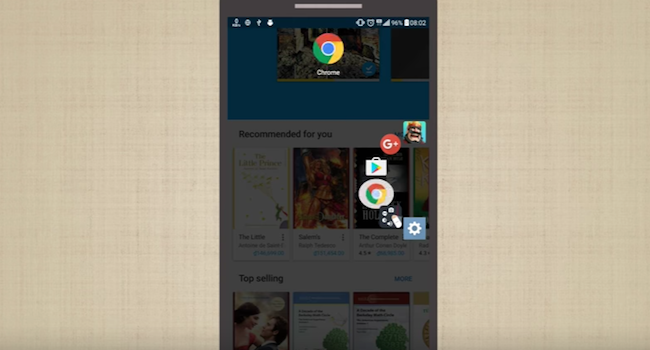 [Android] 新しいスマホ操作のカタチ!アプリを画面横より起動できる「Swiftly Switch」