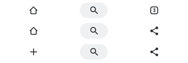 Chrome試験機能Duetでツールバーを下に配置する手順4