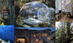 死ぬ前に一度は泊まってみたい 一風変わった世界のホテル7選