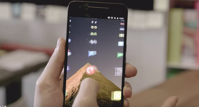 Lens Launcher – android experiments受賞の先進的なランチャーアプリ