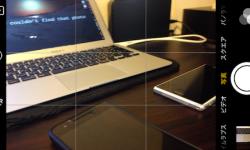 iPhoneで水平な写真を撮るコツ! カメラにグリッド線を表示して被写体の配置を綺麗にする方法