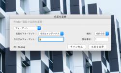 専用ソフト不要!複数ファイルの名前を一度にリネームできる Macの隠れた標準機能