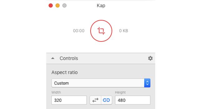 Kap – Macでお手軽に画面動画を録画撮影(スクリーンキャプチャ)できる無料アプリ