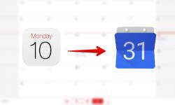 iPhoneからAndroidへカレンダー(スケジュール)を移行する方法