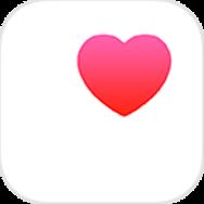 iOS標準「ヘルスケア」アプリのアイコン