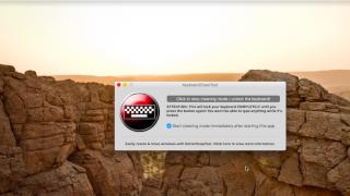 KeyboardCleanTool – Macでキーボード入力を無効に!掃除のとき便利な無料アプリ
