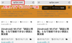 [Mac/iOS] SafariでWebページのドメイン名だけでなく フルURL(完全なアドレス)を表示/コピーする方法