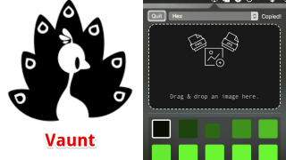 Vaunt – Macで画像に多く占める色を抽出しカラーコードもコピーできる無料アプリ