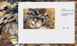 Muzei – 美しい絵画へ毎日壁紙を自動更新! Macのデスクトップ背景画像を芸術作品に変更できる