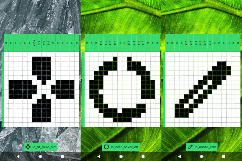Android10のイースターエッグ「ピクロス」の遊び方7