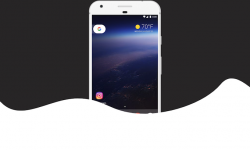 [Android 8.1] クイック設定のテーマカラーを自由に変更する方法! ライト/ダークの背景色を選択しよう
