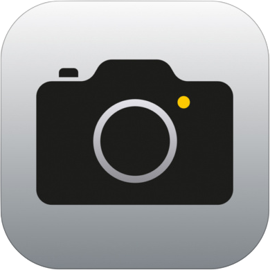 iOS標準「カメラ」アプリのアイコン