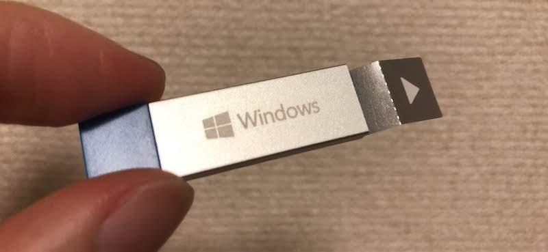 Windows 10をインストールする手順3
