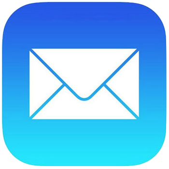 iOS標準「メール」アプリのアイコン