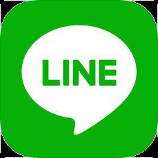 「LINE」アプリのアイコン