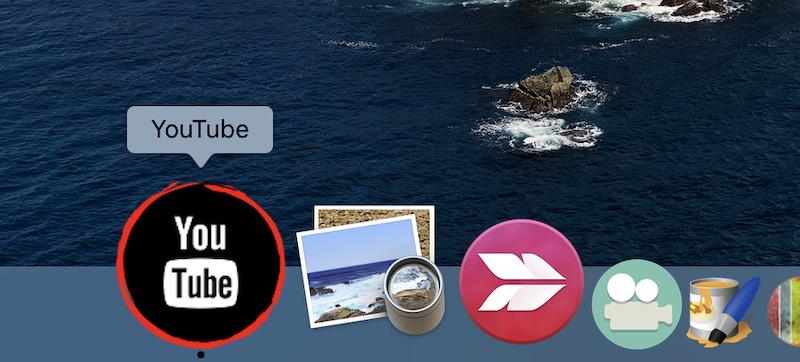 デスクトップやDockに専用アイコンを配置・起動できる説明3